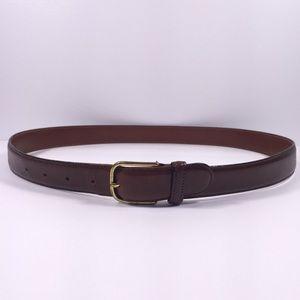 Dooney & Bourke Curried Bridle Leather Belt